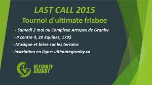LAST CALL 2015